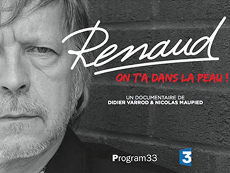 Renaud présente son documentaire on t'a dans la peau