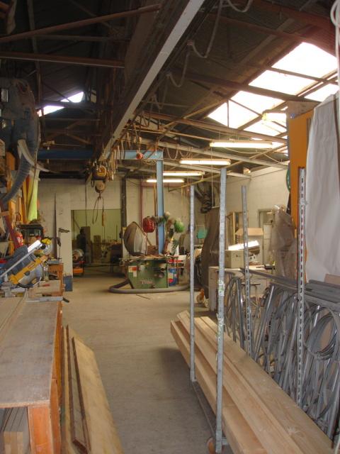 vue de l'atelier And Max, une ancienne métallerie